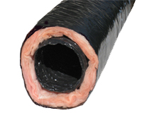 "Cool Components 3"" Flex Tubing - 25' Insulated (UL Listed)"