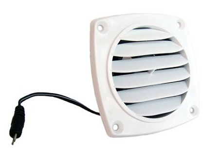 Cool Components Slim Vent  - White - B-Stock