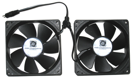 Cool Components Replacement Fans - 92mm x 2 (COPY)