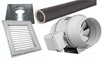 IDF Ceiling Vent System Package (4